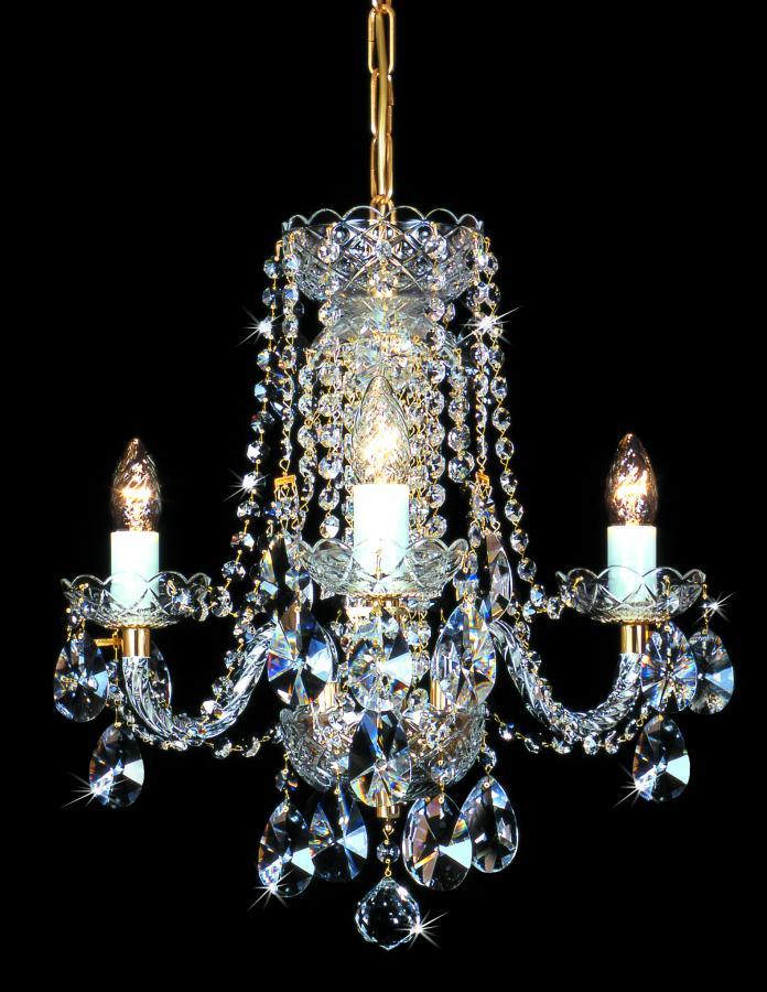 klasszikus kristály csillár